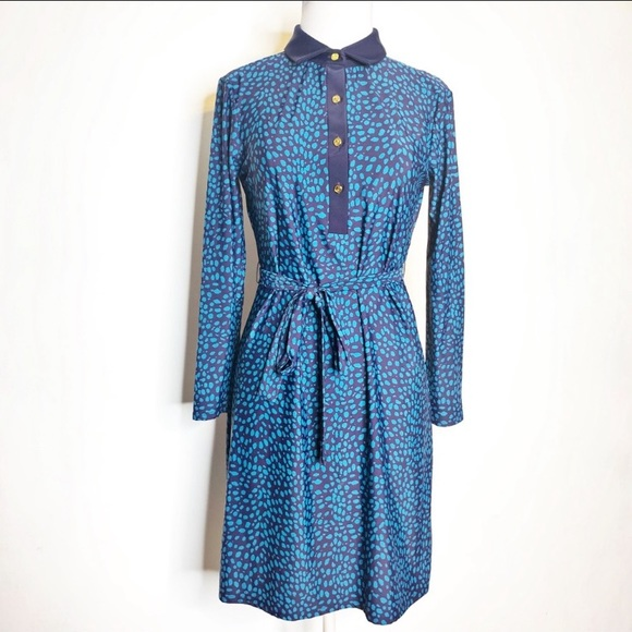 Jude Connally Dresses & Skirts - Jude Connally belted collared shirt dress